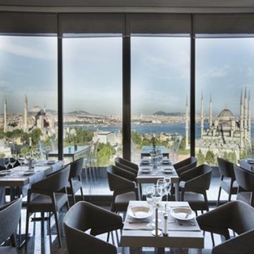 伊斯坦布尔阿卡迪亚蓝色酒店 - 伊斯坦布尔 - 餐馆