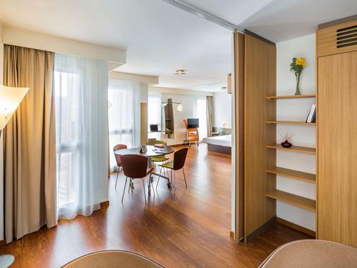 南特中心爱达格公寓式酒店 - 南特 - 餐厅