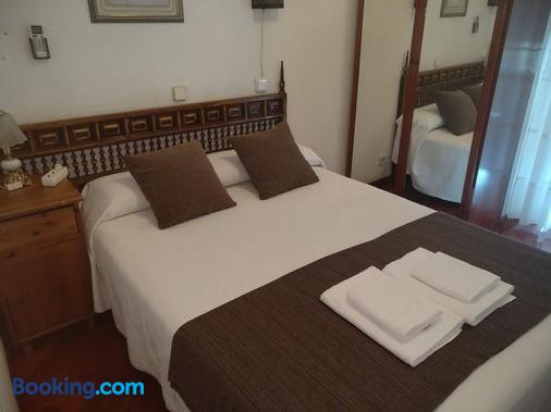 马德里绿宝石旅馆 - 马德里 - 睡房