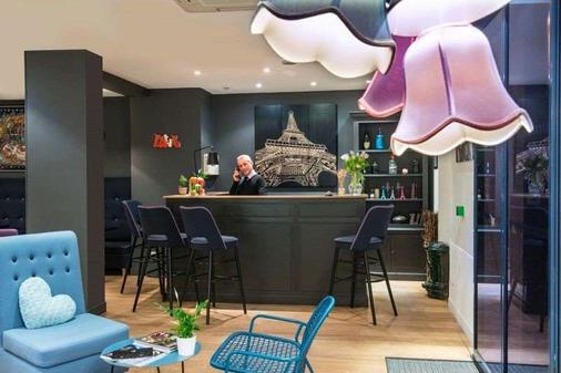 波西米亚别墅酒店 - 巴黎 - 酒吧
