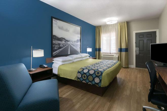 圣安东尼奥速8酒店-近萨姆休斯顿堡 - 圣安东尼奥 - 睡房