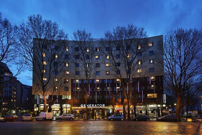巴黎发电机旅馆 - 巴黎 - 建筑