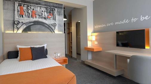 Mdm市中心酒店 - 华沙 - 睡房