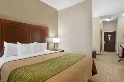 亚瑟港康福特茵酒店&套房 - Port Arthur - 睡房
