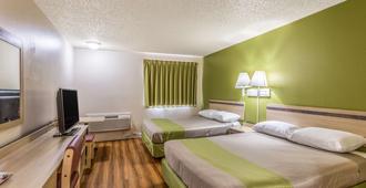 蒙大拿大瀑布城 6 号汽车旅馆 - 大瀑布城 - 睡房
