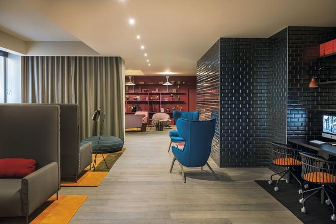 里昂拉法叶蓬奥考酒店 - 里昂 - 休息厅