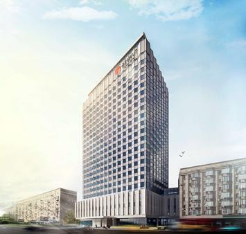 贝尔格莱德酒店 - 莫斯科 - 建筑
