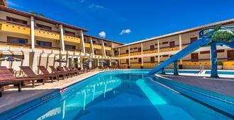 普拉亚波尔图卡莱姆酒店 - 塞古罗港 - 游泳池
