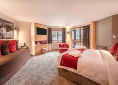 夏蒙尼中心美居酒店 - 夏蒙尼-勃朗峰 - 睡房