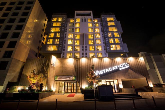 韦斯特凯世界杯酒店 - 西归浦 - 建筑
