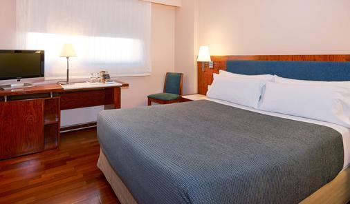 巴塞罗那昂特扎nh酒店 - 巴塞罗那 - 睡房