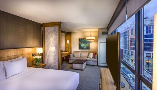 巴尔的摩内港凯悦嘉轩酒店 - 巴尔的摩 - 睡房