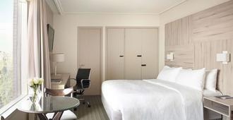 铂尔曼圣地亚哥维塔库拉公寓酒店(前艾顿酒店) - 圣地亚哥 - 睡房