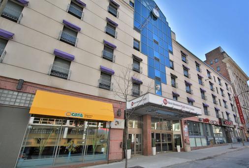西佳蒙特利尔市中心酒店-欧罗巴酒店 - 蒙特利尔 - 建筑