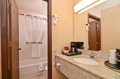 贝斯维斯特比达卡酒店 - 荷马 - 浴室