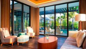 三亚海棠湾民生威斯汀度假酒店 - 三亚 - 客厅