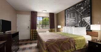 萨利纳斯速8汽车旅馆 - 萨利纳斯 - 睡房