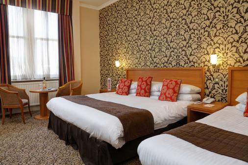 贝斯特韦斯特皇后酒店酒店 - 邓迪 - 睡房