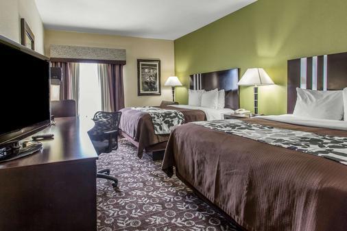 司丽普韦斯特麦迪科森特套房酒店 - 阿马里洛 - 睡房
