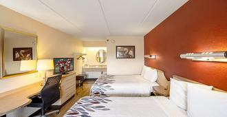 彭萨科拉红屋顶酒店 - 戴维斯公路 I-10 号 - 彭萨科拉 - 睡房