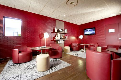 普罗旺斯地区艾克斯南钟楼宝瓦勒酒店 - 普罗旺斯艾克斯 - 酒吧