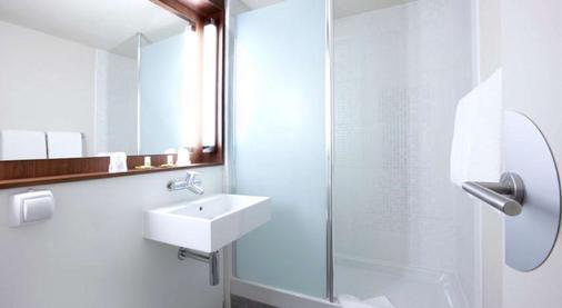普罗旺斯地区艾克斯南钟楼宝瓦勒酒店 - 普罗旺斯艾克斯 - 浴室