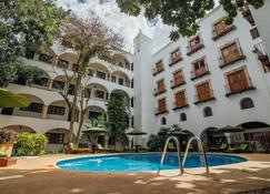 巴利亚多利德梅森侯爵酒店 - 巴利亚多利德 - 游泳池
