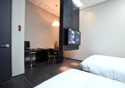 首尔艾琳酒店 - 首尔 - 睡房