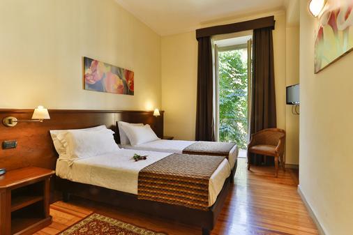托瑞诺中心酒店 - 都灵 - 睡房