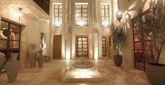 霍亚摩洛哥传统庭院住宅 - 马拉喀什 - 大厅