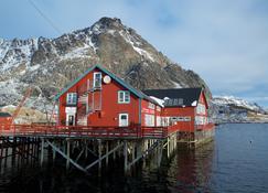萨尔特里耶特旅馆 - Sørvågen - 建筑
