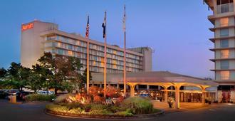 马里奥特酒店圣路易斯机场店 - 圣路易斯 - 建筑