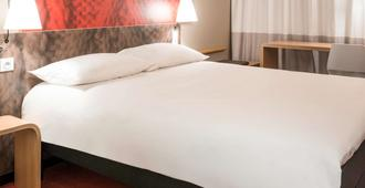 宜必思根特市中心圣巴夫主教座堂酒店 - 根特 - 睡房