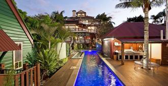 富兰克林别墅酒店 - 布里斯班 - 游泳池
