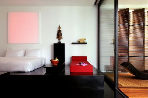 图书馆酒店 - 苏梅岛 - 睡房
