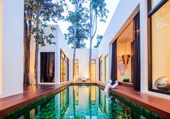 图书馆酒店 - 苏梅岛 - 游泳池