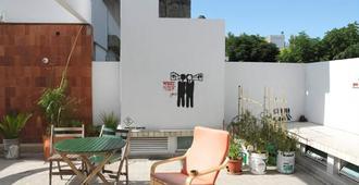 苏尔青年旅舍 - 科洛尼亞德爾薩克拉門托 - 露台