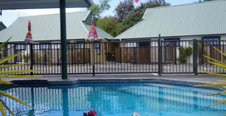切维厄特公园汽车旅馆 - 旺阿雷 - 游泳池