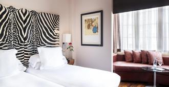 德比大酒店 - 巴塞罗那 - 睡房