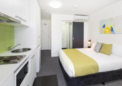 北墨尔本城市边缘服务式公寓 - 墨尔本 - 睡房
