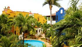 阿莱格利亚海滩玛亚瓦坎泽酒店 - 卡门海滩 - 游泳池