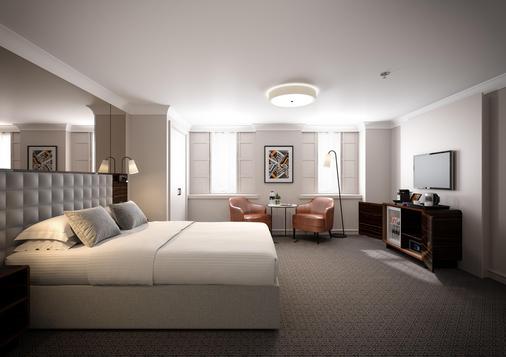 伦敦斯特兰德宫酒店 - 伦敦 - 睡房