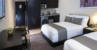 墨西哥城圣塔菲斯塔迪亚套房酒店 - 墨西哥城 - 睡房