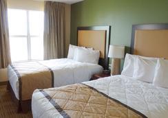 印第安纳波利斯西北I-465美国长住酒店 - 印第安纳波利斯 - 睡房