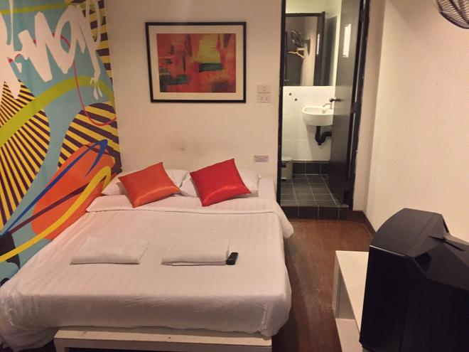 小憩酒店 - 曼谷 - 睡房
