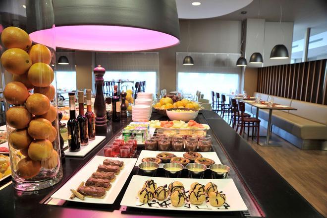 马拉加机场康铂酒店 - 马拉加 - 自助餐