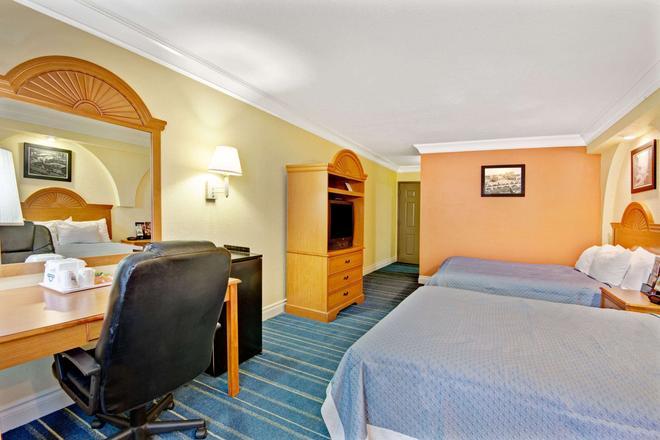 圣安东尼奥机场戴斯酒店 - 圣安东尼奥 - 睡房