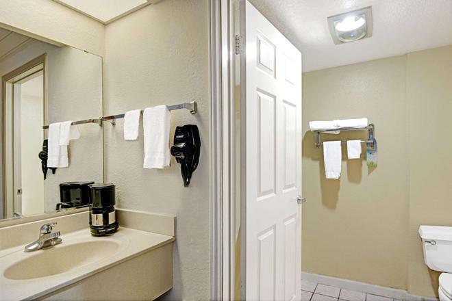 圣安东尼奥机场戴斯酒店 - 圣安东尼奥 - 浴室