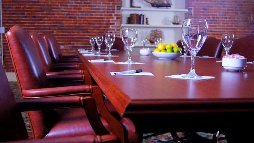环河街酒店 - 萨凡纳 - 餐厅