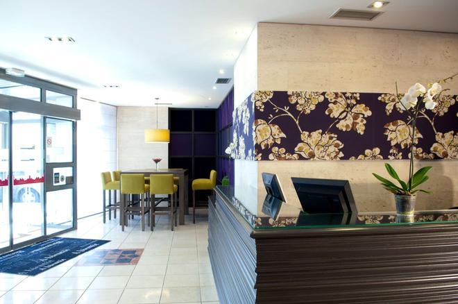 贝斯特韦斯特杜邦威尔逊酒店 - 里昂 - 大厅